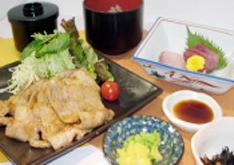 豚生姜焼き和膳