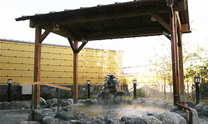 露天風呂(天然温泉)